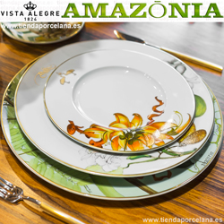 Vajilla colección AMAZONIA Vista Alegre