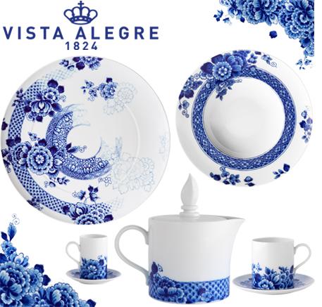 Logo Vajilla moderna Vista Alegre Blue Ming