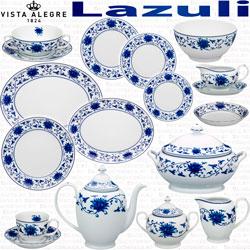 Servicios de Cafe y Te Vista Alegre Luso Lazuli