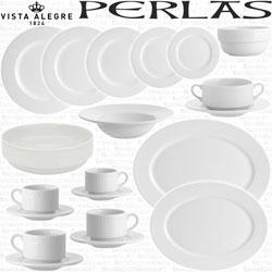 Vajillas, Cafe, Servicio Te, Consomé, Vista Alegre Perlas Blancos