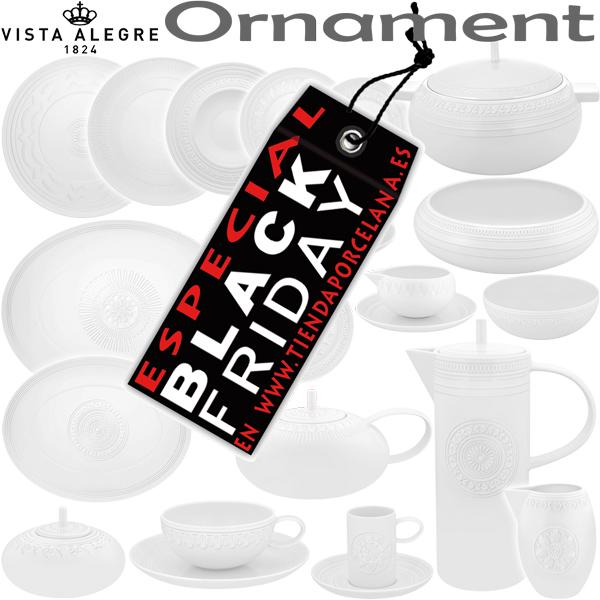 Platos Llanos, Sopera, Cafetera, Vista Alegre Domo Ornament ESPECIAL BLACK FRIDAY
