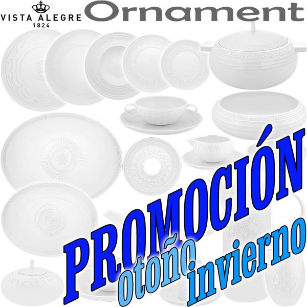Platos Llanos, Sopera, Cafetera, Vista Alegre Domo Ornament OFERTA OTOÑO / INVIERNO